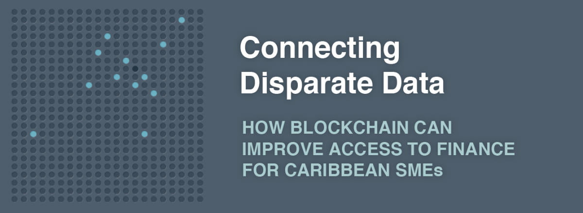 How can block-chain help to increase access to finance for Caribbean SMEs?